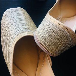 Shoes - New 2018 ! Bling Bling Soft Golden Jutti